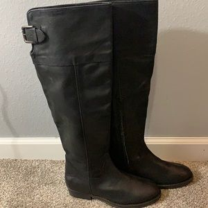 NWT BP Darbie Leather tall riding boots size 6.5